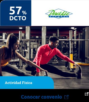 Gimnasio Pacific - Beneficios Wellness -  BICE VIDA