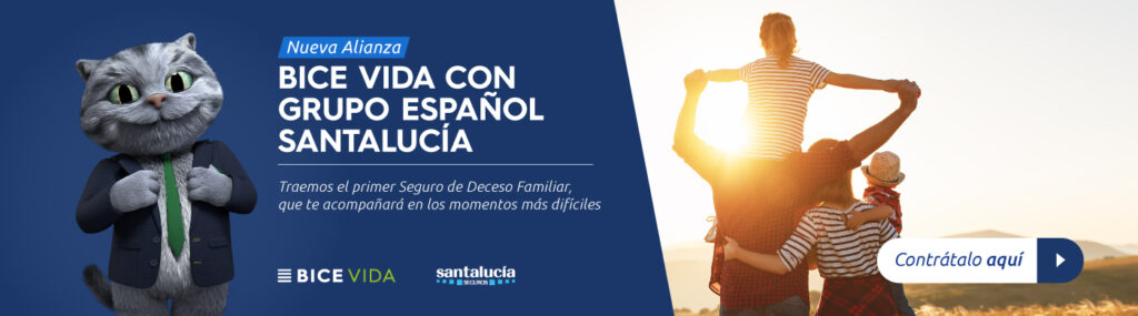 Noticia alianza BICE VIDA y Santa Lucia